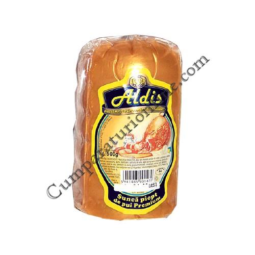 Sunca piept de pui Premium Aldis 500 gr.