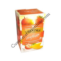 Ceai capsuni & mango Twinings Infuso 20x2gr.
