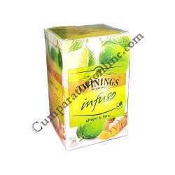 Ceai ghimbir & lime Twinings Infuso 20x2gr.