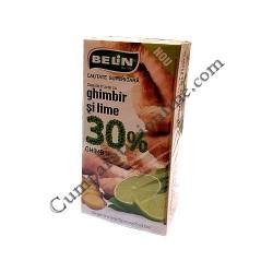 Ceai ghimbir si lime 30% Belin 20x2gr.