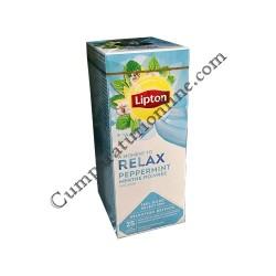 Ceai menta Lipton Relax 20 pl.