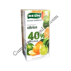 Ceai mix de citrice 40% Belin 20x2 gr.