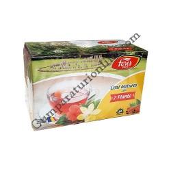 Ceai natural din 7 plante Fares 20x1,8 gr.