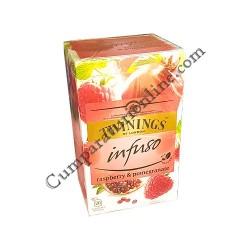 Ceai zmeura & rodie Twinings Infuso 20x2gr.