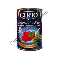 Pulpa rosii cu busuioc Cirio 400 gr.