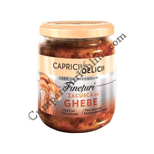 Zacusca cu ghebe Capricii si Delicii 250 gr.