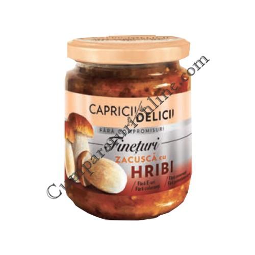 Zacusca cu hribi Capricii si Delicii 250 gr.