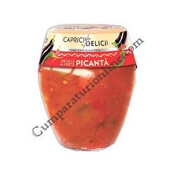 Zacusca de vinete Capricii si Delicii 290 gr. Ciuperci