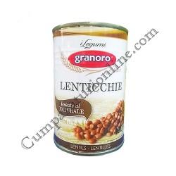 Linte conserva Granoro 400 gr.