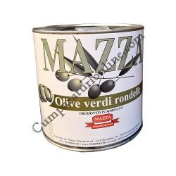 Masline verzi rondele Mazza 2,6 Kg.