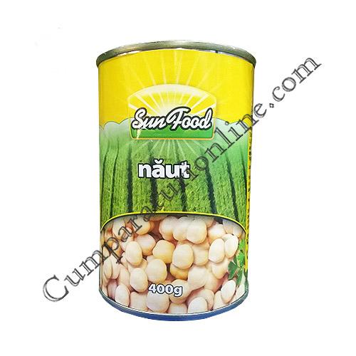 Naut conserva Sun food 400 gr.