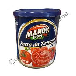 Pasta de tomate 24% Mandy 800 gr.