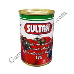 Pasta de tomate 24% Sultan 155 gr.
