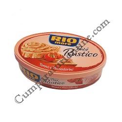 Pate rustic de ton cu rosii Rio Mare 115 gr.