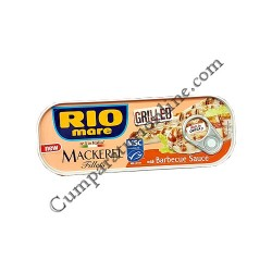 Macrou la gratar cu sos barbeque Rio Mare 120 gr.