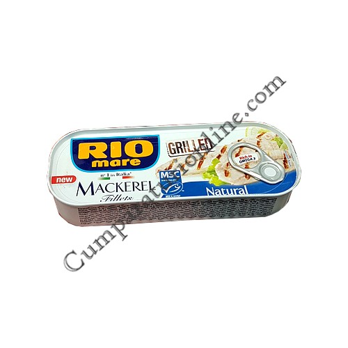 Macrou la gratar in suc natural Rio Mare 120 gr.