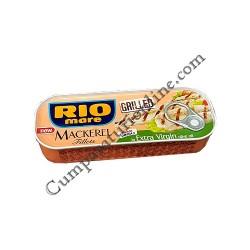 Macrou la gratar in ulei de masline Rio Mare 120 gr.