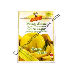 Budinca dietetica banane Desert 40 gr.
