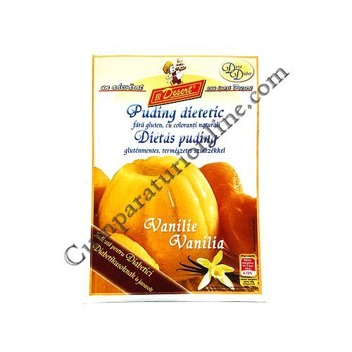 Budinca dietetica vanilie Desert 40 gr.
