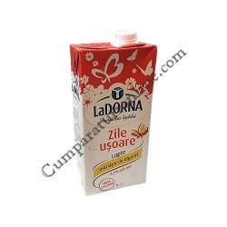Lapte fara lactoza LaDorna Zile Usoare UHT 3,5% 1l.