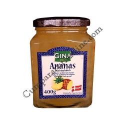 Dulceata de ananas Gina 400 gr.