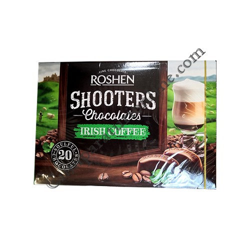 Praline cu Irish Coffee Shooters Roshen 150 gr.