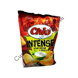 Chips Chio Intense Sour Cream & Herbs 140 gr.