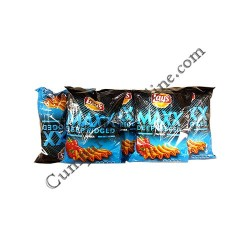 Chips Lay's Maxx Deep Ridge paprika 65 gr.