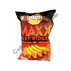 Chips Lay's Maxx Deep Ridge sare 130 gr.