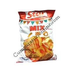 Snacks Star Mix cheese, bacon, cheese&ketchup 100 gr.