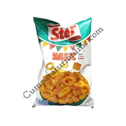 Snacks Star Mix pizza, cheese, paprika 100 gr.