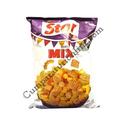Snacks Star Mix sweet chilli, yoghurt&garlic, paprika 100 gr.