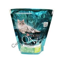 Hrana uscata pisici Indoor Formula curcan Purina One 200 gr.