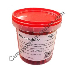 Ketchup plicuri Univer 25x15 ml.