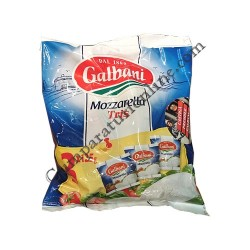 Mozzarella Tris Galbani 3x125 gr.