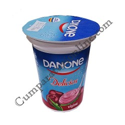 Iaurt visine Danone Delicios 400 gr.