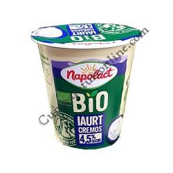 Iaurt cremos Bio 4,5% grasime Napolact 140 gr.
