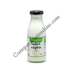 Iaurt de baut capra 3,5% Artesana 250 ml.