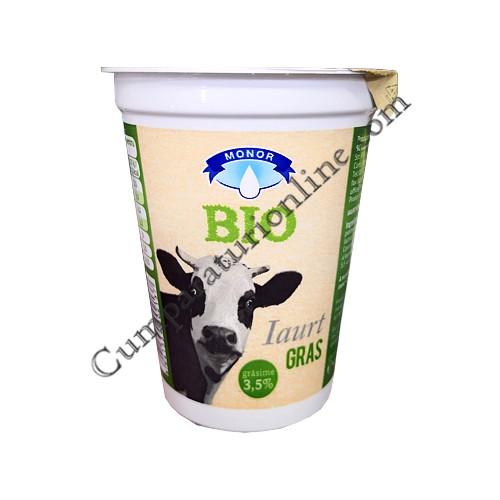 Iaurt gras Bio 3,5% Monor 400 gr.