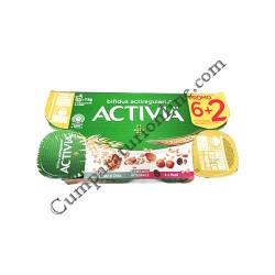Iaurt Activia musli ovaz nuci Danone 125 gr. 7+1 gratuit