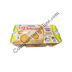 Iaurt biscuiti Danone Delicios 125 gr. 71 gratuit