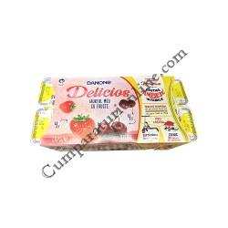 Iaurt capsuni visine Danone Delicios 125 gr. 71 gratuit