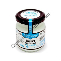 Iaurt natural vaca 3,5% Artesana 200 ml.