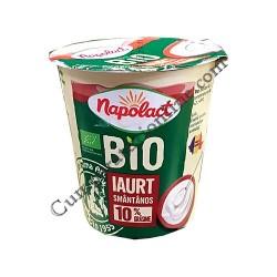 Iaurt smantanos Bio 10% grasime Napolact 140 gr.
