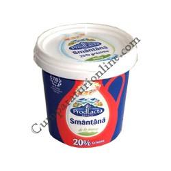 Smantana 20% grasime Prodlacta 900 gr.