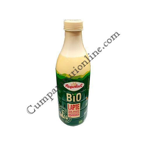 Lapte Bio 3,8% grasime Napolact 1,4 l.