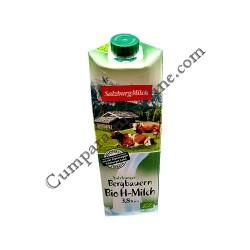 Lapte de vaca BIO 3,8% UHT SalzburgMilch 1l.