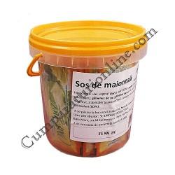 Maioneza portionata plic Univer 200x15 ml.