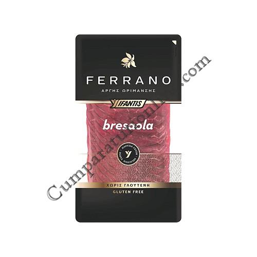 Pastrama de vita Ferrano Bresaola Ifantis 80 gr.