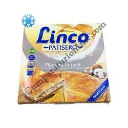Placinta la tava cu muuulta umplutura de ciuperci Linco 800 gr.